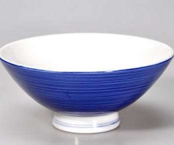 Blaue Porzellanschale 210 ml