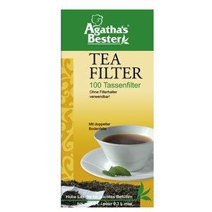 Teefiltertüten für Tassen 100 Stück