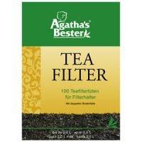 Teefiltertüten für Kannen mit Bodenfalte 100 Stück