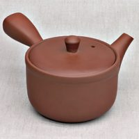 Teekanne lehmrot fein poliert 320 ml