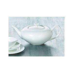 Teekanne Bone China 1,0 l weiss