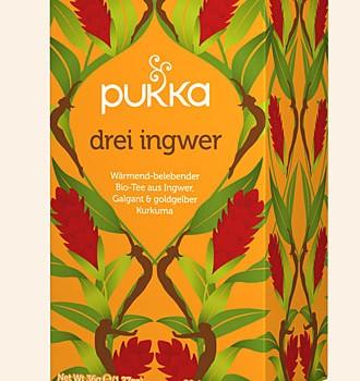 Bio Pukka Drei Ingwer Tea 20 Btl. a 1,8g
