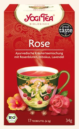 Rose Yogi Tee