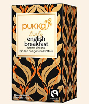 Bio Pukka Lively English Breakfast Tee Bio 20 Btl. a 1,8g