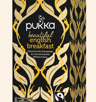 Bio Pukka Beautiful English Breakfast Tee 20 Btl. a 1,8g
