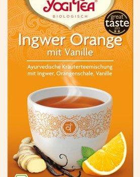 Ingwer Orange Vanile Yogi Tee