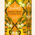 Bio Pukka Zitrone, Ingwer & Manuka-Honig, 20 Btl. a 2g