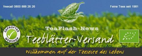 TeaFlash Newsletter Header Teeblaetter-Versand