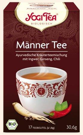 Männer Tee Yogi Tea Bio, 17 Teebeutel à 1,8 g