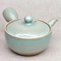 Teekanne-hellblau-glasiert-280ml