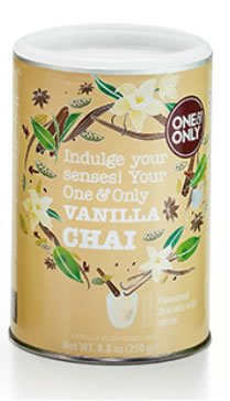 "One & Only Chaipulver ""Vanilla Spice"" 250 g"