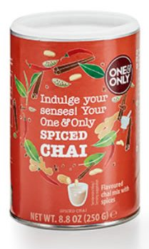 "One & Only Chaipulver ""Spiced Chai"" 250 g"