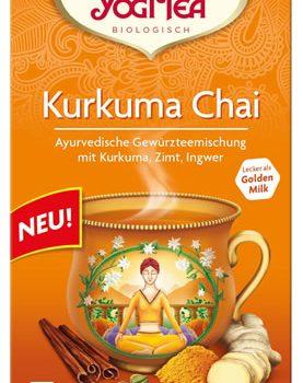Kurkuma Chai Yogi Tea