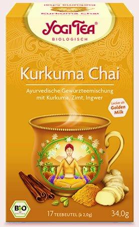 Kurkuma Chai Yogi Tea 34g