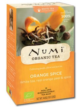 Orange Spice Numi Tee Bio
