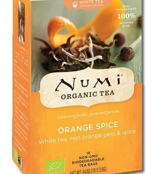 Orange Spice Numi Tee Bio