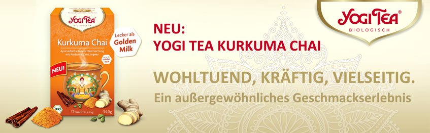Yogi Tea Kurkuma Chai Golden Milk