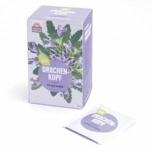 Drachenkopf Teebeutel 20x1,5g Biotee