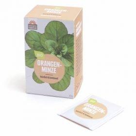 Orangenminze Teebeutel 20x1,5g Biotee