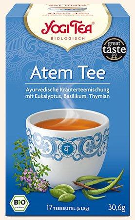 Atem Tee Yogi Tea Bio, 17 Teebeutel