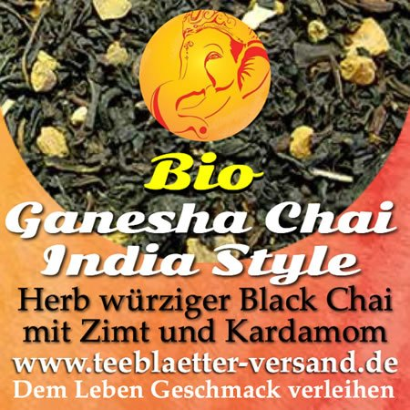 Ganesha Chai Tea India Pur