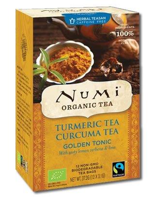 Golden Tonic Turmeric Numi Tea Bio 12 Teebeutel