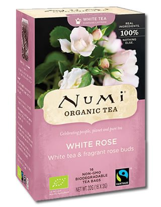 White Rose Numi Tea Bio 16 Teebeutel