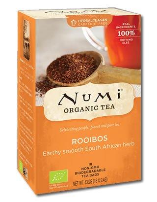Rooibos (pur) Numi Tea Bio, 18 Teebeutel