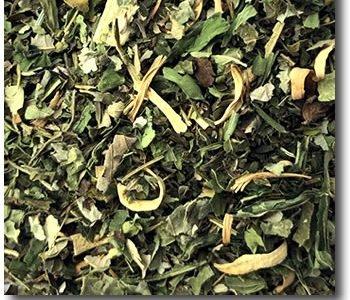 Rooibush Hanf-Minze-Mischung beim Teeblätter-Versand