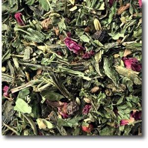 Grüner-Hanf-Chai-Mischung beim Teeblätter-Versand