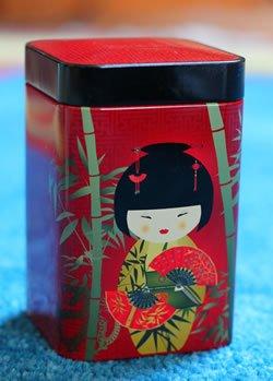 Teedose Little Red Geisha  für 100g