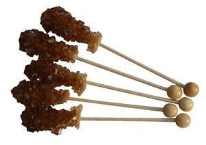 Kandissticks mini Packung mit 5 x braun, 5 x weiß, Länge 11 cm