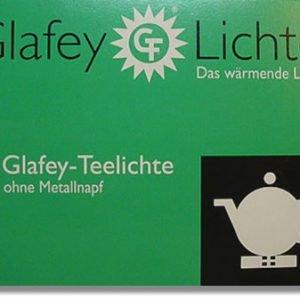 Glafey Teelichter ohne Alu Inhalt 12 Stück