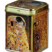 Dose Klimt -Kuss- 100g mit Stülpdeckel